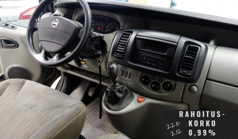 Nissan Primastar 2.5 dCi 146 Van 2.9t 5m3 L1H1**webasto ja vetokoukku** full