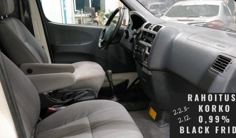 Toyota Hiace 2.5 D4D 117 5ov 4wd pitkä **TARJOUS** full