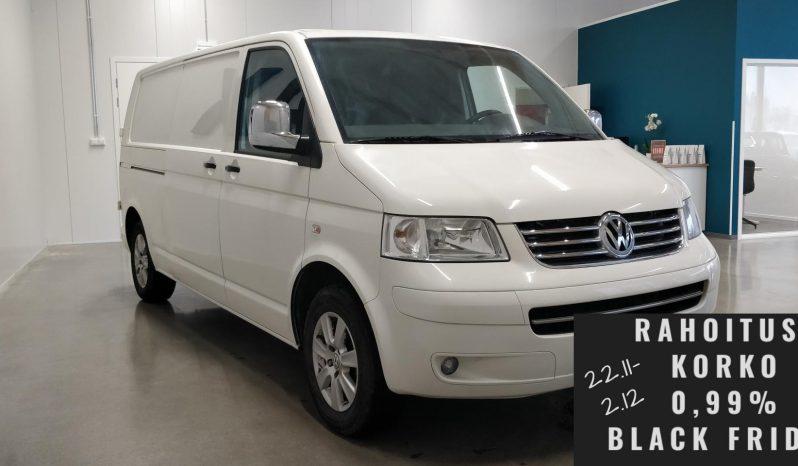 Volkswagen Transporter White umpipa pitkä 2,5 TDI 96kw full