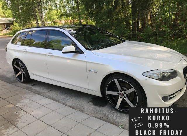 BMW 528 A F11 Touring **Näyttävä** full