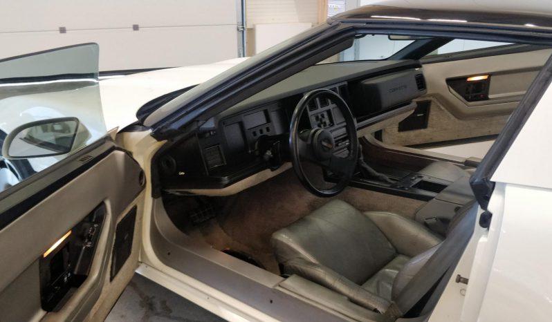 Chevrolet Corvette Museorekisterissä full