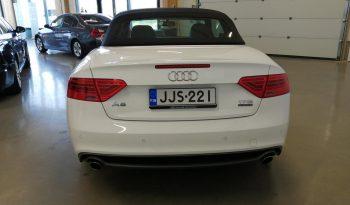 Audi A5 Cabriolet 2,0 TFSI 165 Q S tron **Laajakasko vuodeksi 199€** full