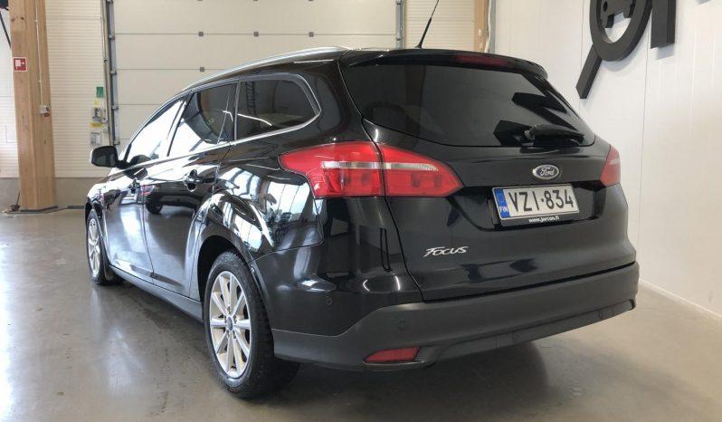 Ford Focus 1,5 TDCi 120 hv Start/stop PowerShift A6 Titanium Wagon **LAAJAKASKO VUODEKSI 199 EUROA** full